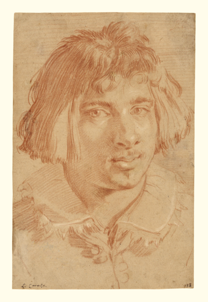 Portrait of a Young Man; Gian Lorenzo Bernini (Italian, 1598 - 1680); 1630; Red and white chalk; 33.2 × 21.9 cm (13 1/16 × 8 5/8 in.); 82.GB.137; The J. Paul Getty Museum, Los Angeles; Rights Statement: No Copyright - United States