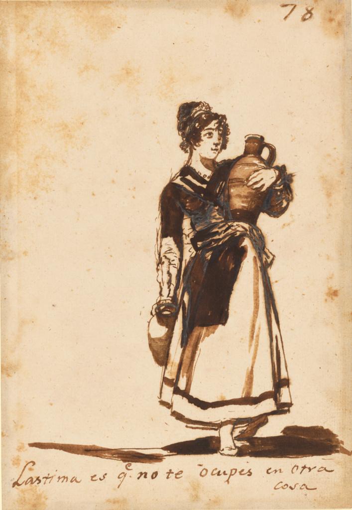 Teen girls Goya