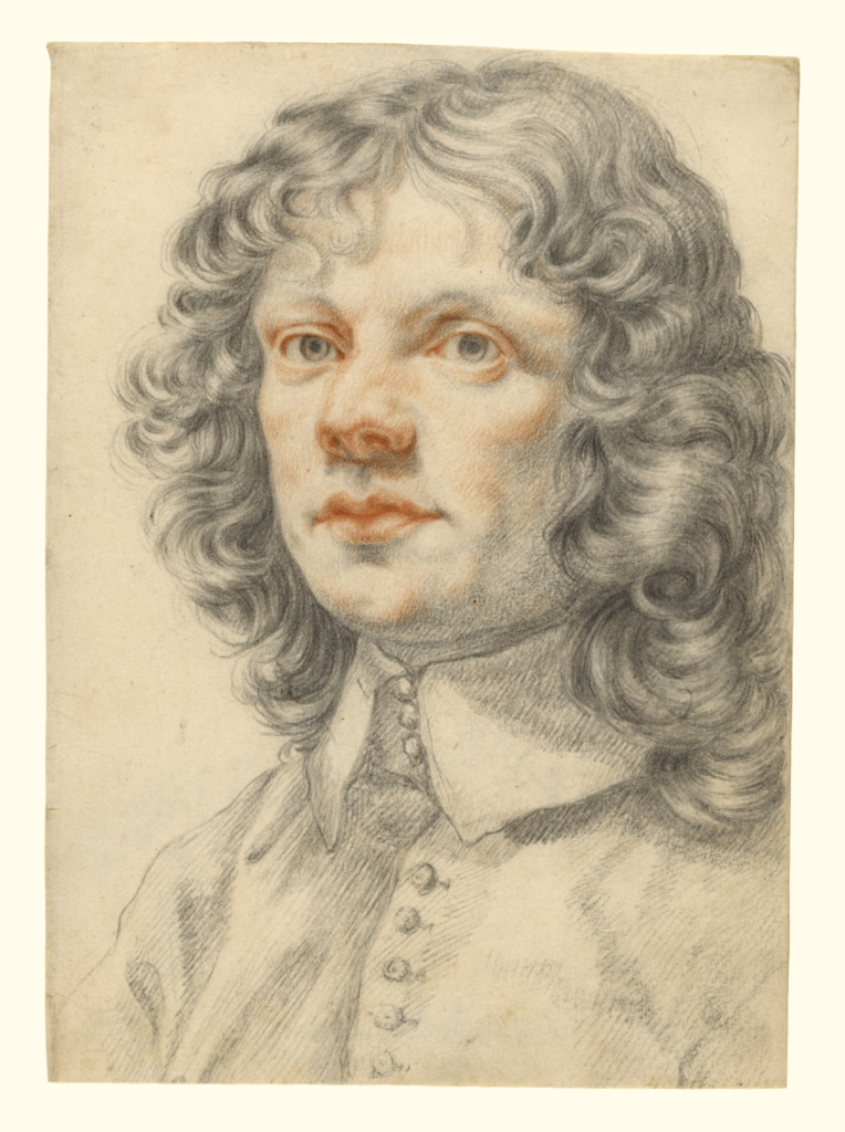 Portrait of a Man (recto); Portrait of a Man (accidental offset) (verso); Filippo Baldinucci (Italian, 1625 - 1696); about 1660; Red and black chalk; 23.2 × 16.5 cm (9 1/8 × 6 1/2 in.); 92.GB.33; The J. Paul Getty Museum, Los Angeles; Rights Statement: No Copyright - United States