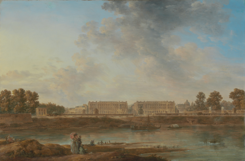 A View of Place Louis XV; Attributed to Alexandre-Jean Noël (French, 1752 - 1834); about 1775–1787; Oil on canvas; 49.8 × 74.9 cm (19 5/8 × 29 1/2 in.); 57.PA.3; The J. Paul Getty Museum, Los Angeles; Rights Statement: No Copyright - United States