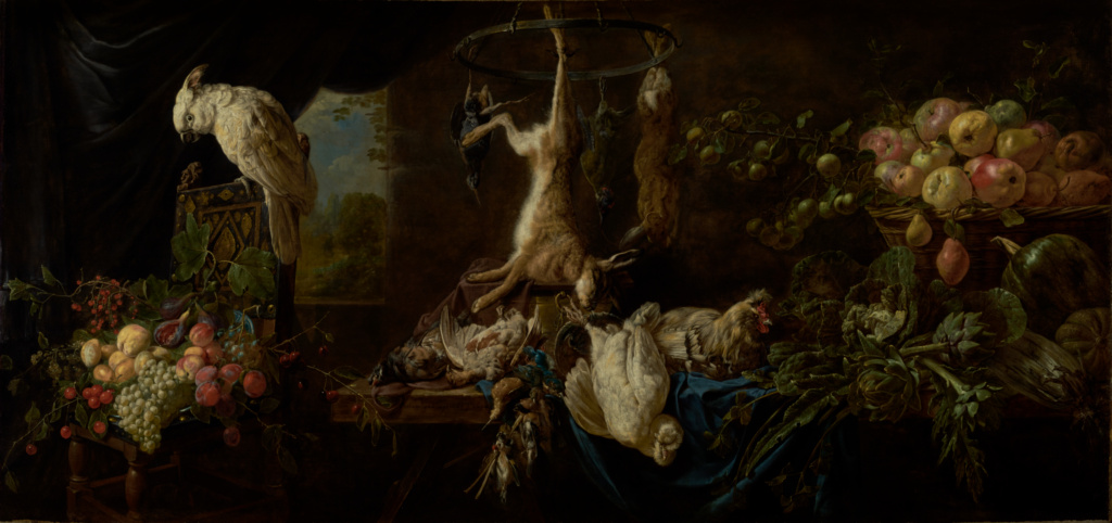 'Still Life with Game, Vegetables and Fruit, 1602' Giclee ...