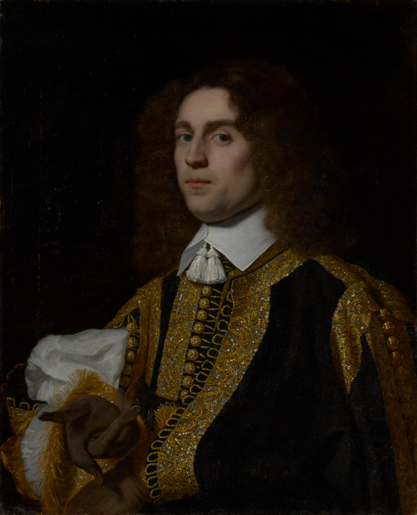 Portrait of a Young Man in Military Costume; Bartholomeus van der Helst (Dutch, 1613 - 1670); Netherlands; 1650; Oil on canvas; 74.3 × 60.3 cm (29 1/4 × 23 3/4 in.); 70.PA.12; The J. Paul Getty Museum, Los Angeles; Rights Statement: No Copyright - United States