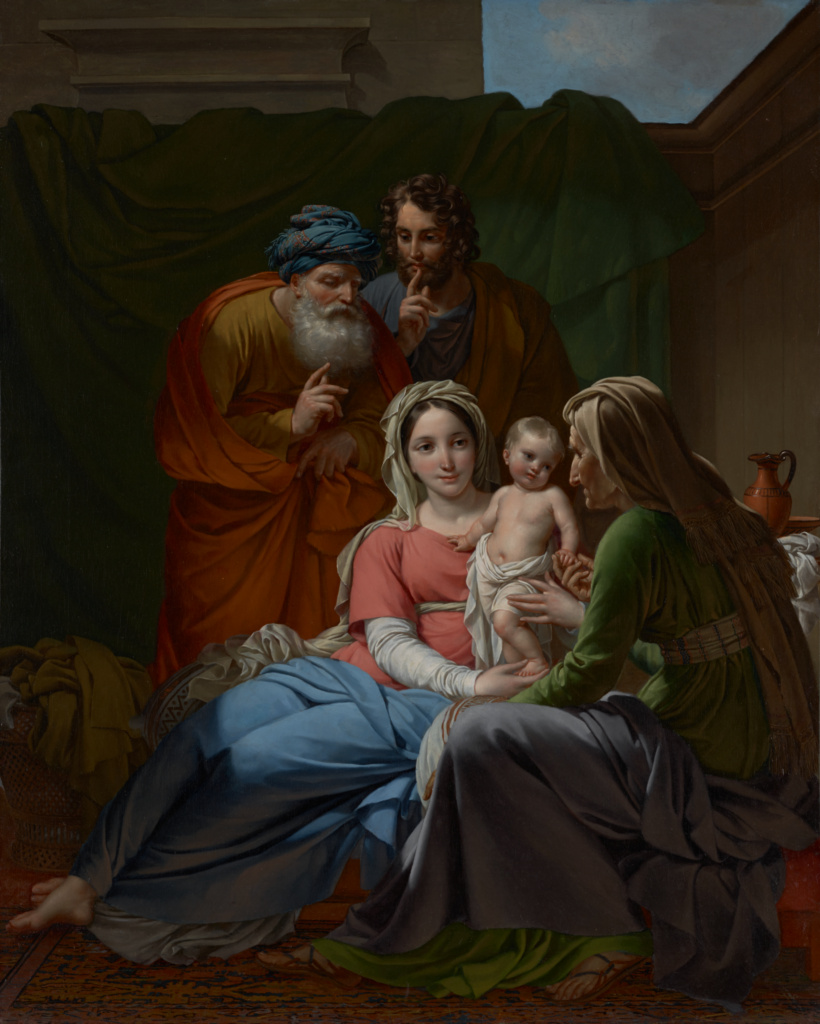 The Holy Family; Joseph Paelinck (Belgian, 1781 - 1839); about 1820; Oil on canvas; 106 × 84.8 cm (41 3/4 × 33 3/8 in.); 71.PA.32; The J. Paul Getty Museum, Los Angeles; Rights Statement: No Copyright - United States