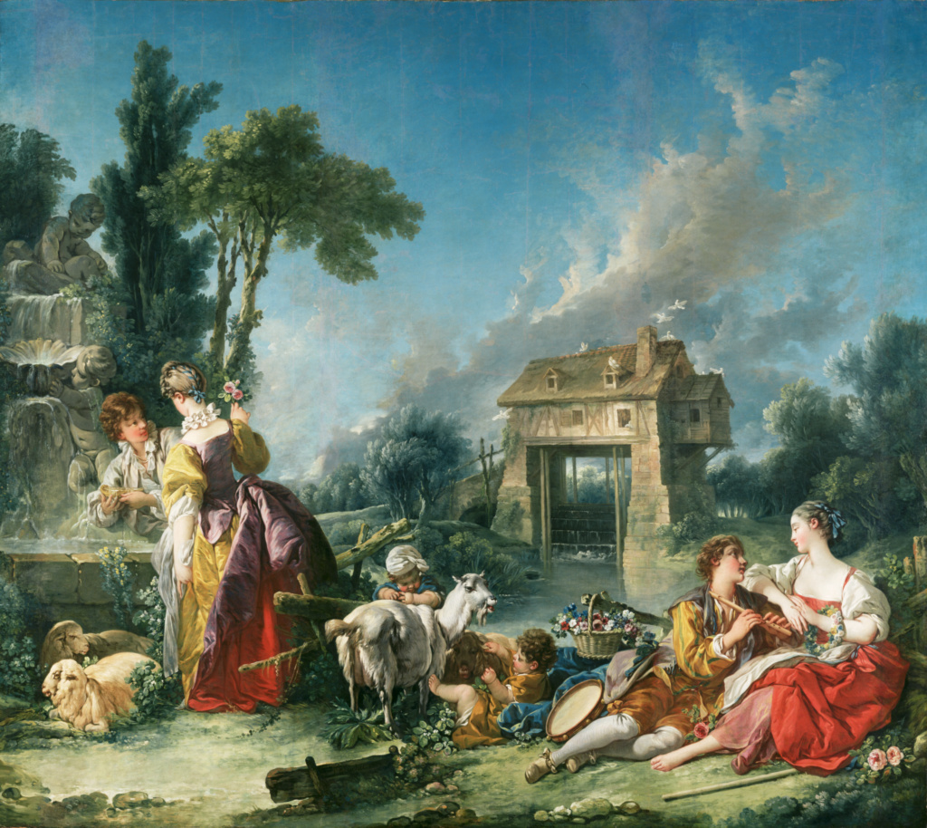The Fountain of Love; François Boucher (French, 1703 - 1770); 1748; Oil on canvas; 294.6 × 337.8 cm (116 × 133 in.); 71.PA.37; The J. Paul Getty Museum, Los Angeles; Rights Statement: No Copyright - United States
