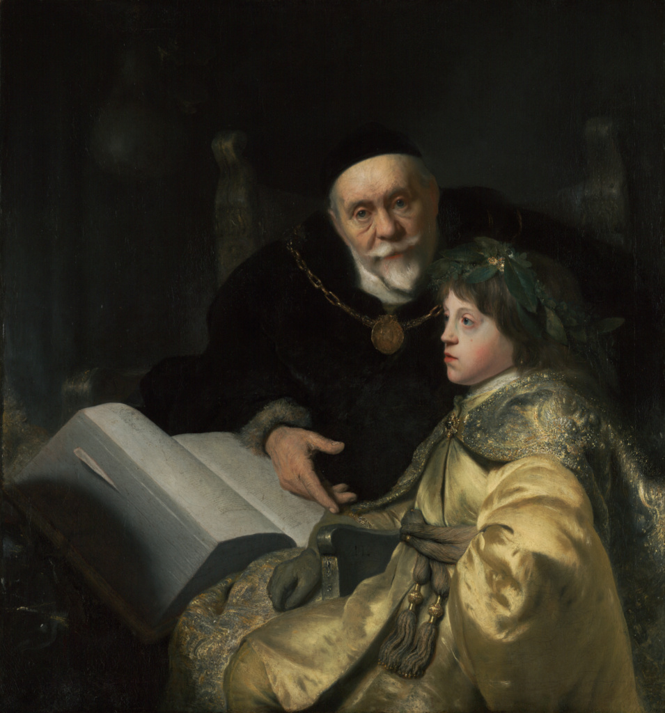 Prince Charles Louis of the Palatinate with his Tutor Wolrad von Plessen in Historical Dress; Jan Lievens (Dutch, 1607 - 1674); Netherlands; 1631; Oil on canvas; 104.5 × 97.5 cm (41 1/8 × 38 3/8 in.); 71.PA.53; The J. Paul Getty Museum, Los Angeles; Rights Statement: No Copyright - United States