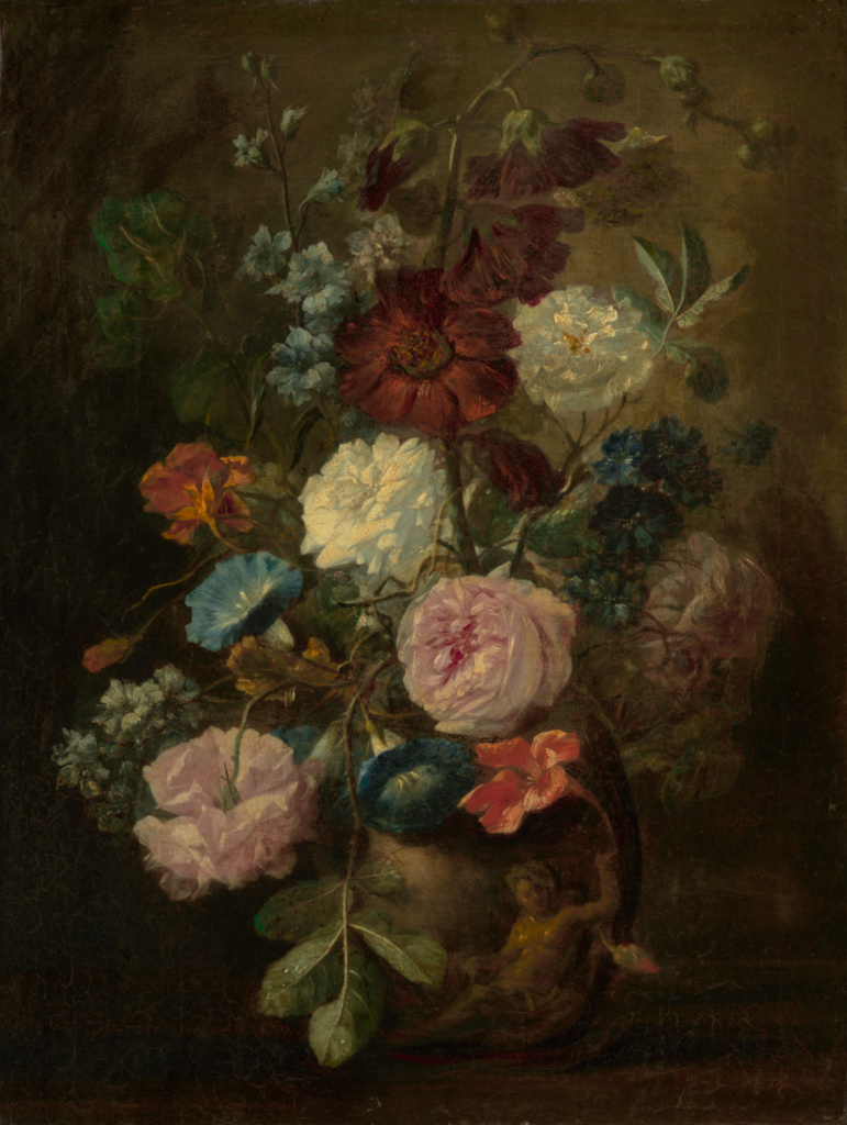 The Getty & Vase of Flowers (Getty Museum)