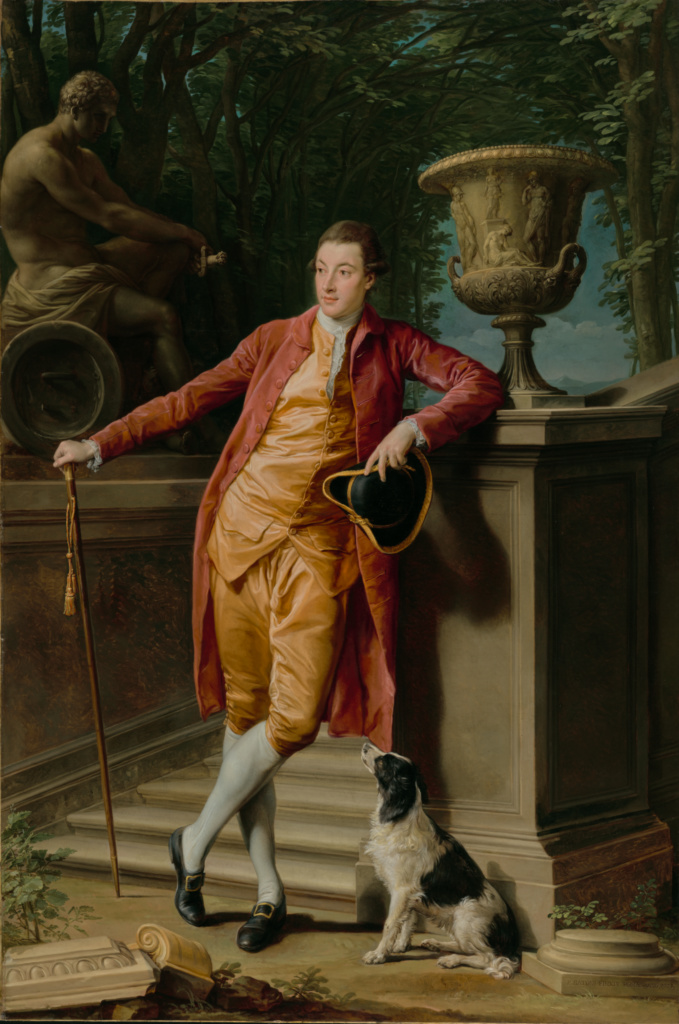 Portrait of John Talbot, later 1st Earl Talbot; Pompeo Batoni (Italian (Lucchese), 1708 - 1787); Italy; 1773; Oil on canvas; 275.6 × 183.5 cm (108 1/2 × 72 1/4 in.); 78.PA.211; The J. Paul Getty Museum, Los Angeles; Rights Statement: No Copyright - United States