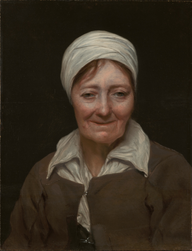 Head of a Woman; Michael Sweerts (Flemish, 1618 - 1664); about 1654; Oil on panel; 50.6 × 37.5 cm (19 15/16 × 14 3/4 in.); 78.PB.259; The J. Paul Getty Museum, Los Angeles; Rights Statement: No Copyright - United States