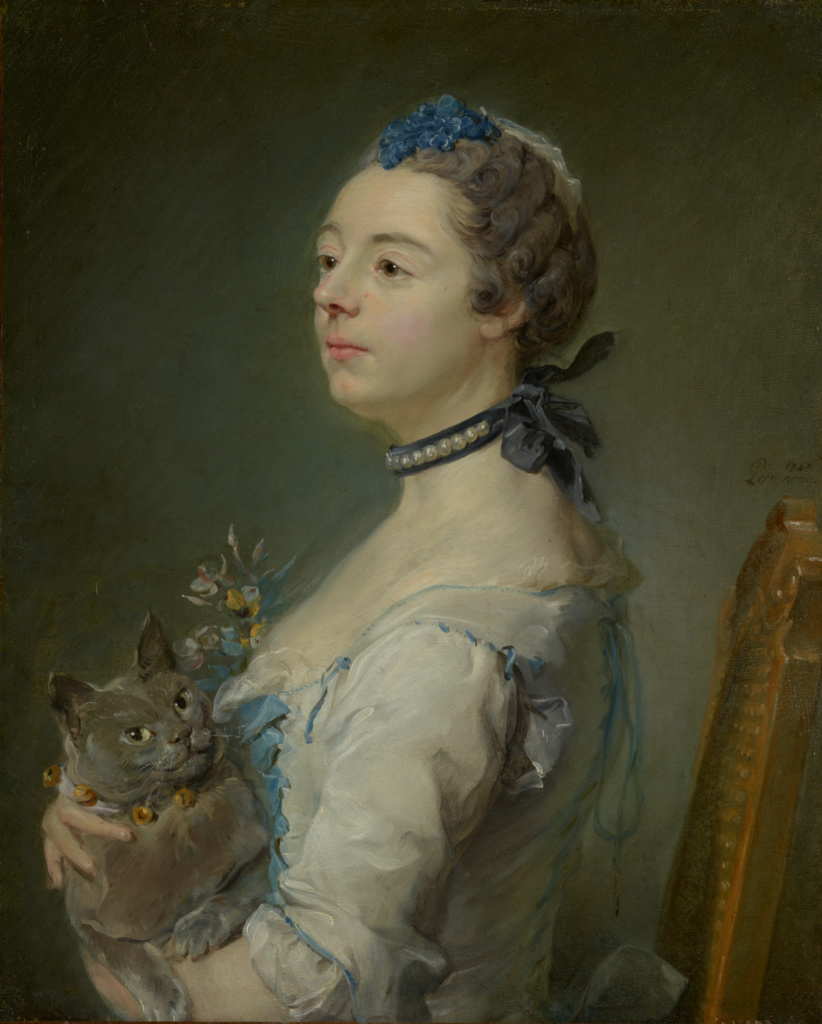 Magdaleine Pinceloup de la Grange, née de Parseval; Jean-Baptiste Perronneau (French, 1715 - 1783); 1747; Oil on canvas; 65.1 × 52.4 cm (25 5/8 × 20 5/8 in.); 84.PA.665; The J. Paul Getty Museum, Los Angeles; Rights Statement: No Copyright - United States