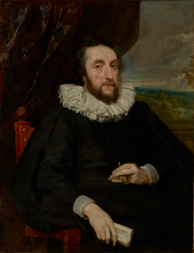 Thomas Howard, 2nd Earl of Arundel; Anthony van Dyck (Flemish, 1599 - 1641); about 1620–1621; Oil on canvas; 102.6 × 79.7 cm (40 3/8 × 31 3/8 in.); 86.PA.532; The J. Paul Getty Museum, Los Angeles; Rights Statement: No Copyright - United States
