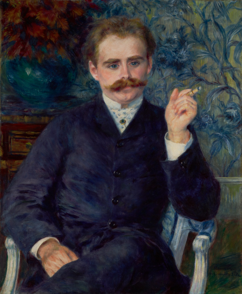 Albert Cahen d'Anvers; Pierre-Auguste Renoir (French, 1841 - 1919); 1881; Oil on canvas; 80 × 63.8 cm (31 1/2 × 25 1/8 in.); 88.PA.133; Rights Statement: No Copyright - United States
