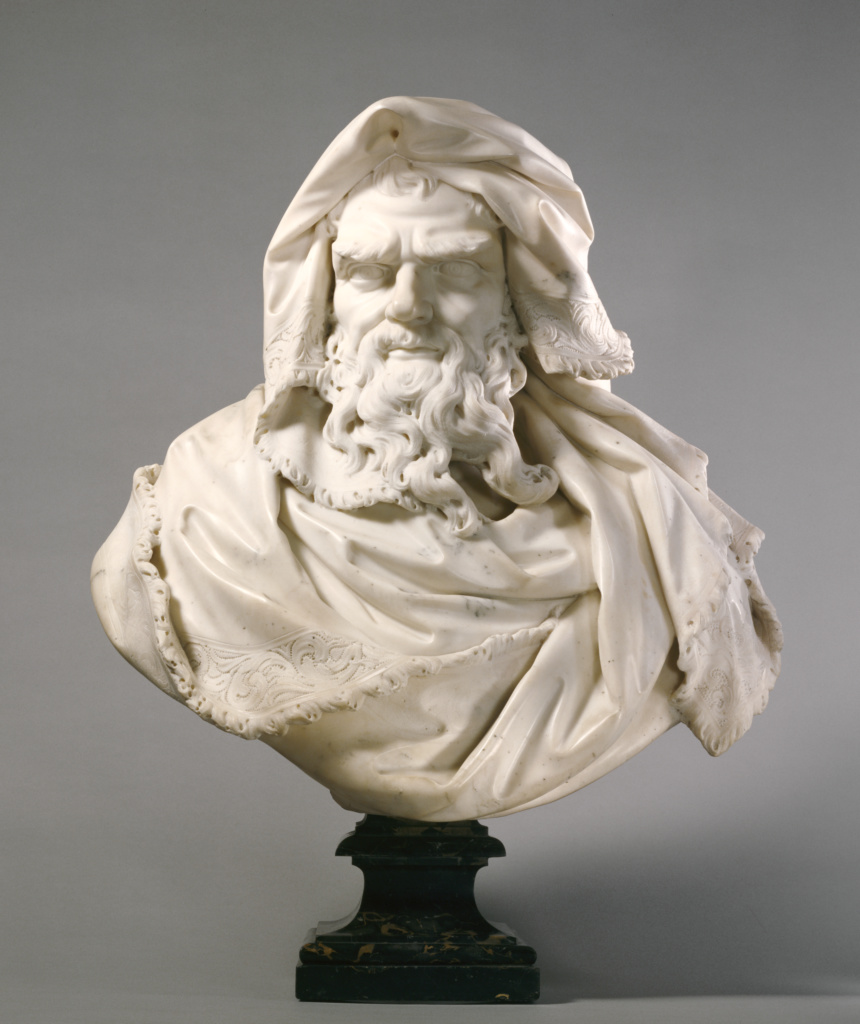 Bust of Winter; Paul Heermann (German, 1673 - 1732); about 1700; Marble; 65.1 × 63.5 × 33.7 cm (25 5/8 × 25 × 13 1/4 in.); 82.SA.10; The J. Paul Getty Museum, Los Angeles; Rights Statement: No Copyright - United States