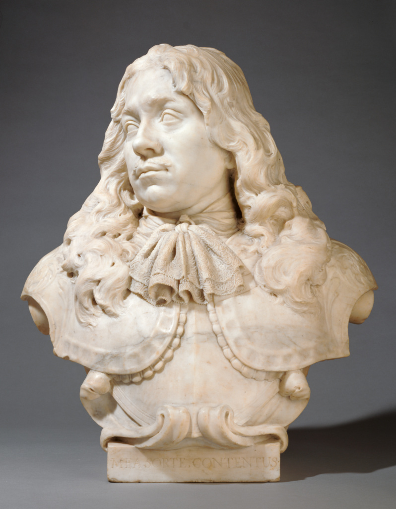 Bust of Jacob van Reygersberg (1625 - 1675); Rombout Verhulst (Dutch, 1624 - 1698); Netherlands; 1671; Marble; 63 × 57 × 33 cm (24 13/16 × 22 7/16 × 13 in.); 84.SA.743; The J. Paul Getty Museum, Los Angeles; Rights Statement: No Copyright - United States