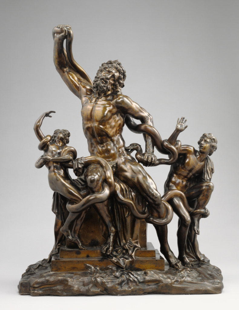 Laocöon; Giovanni Battista Foggini (Italian, 1652 - 1725); Florence, Tuscany, Italy; about 1720; Bronze; 56 × 44 × 21.9 cm (22 1/16 × 17 5/16 × 8 5/8 in.); 85.SB.413; The J. Paul Getty Museum, Los Angeles; Rights Statement: No Copyright - United States
