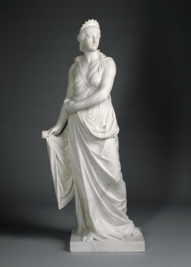 Juno; Joseph Nollekens (English, 1737 - 1823); England; 1776; Marble; 139.1 cm (54 3/4 in.); 87.SA.108; The J. Paul Getty Museum, Los Angeles; Rights Statement: No Copyright - United States