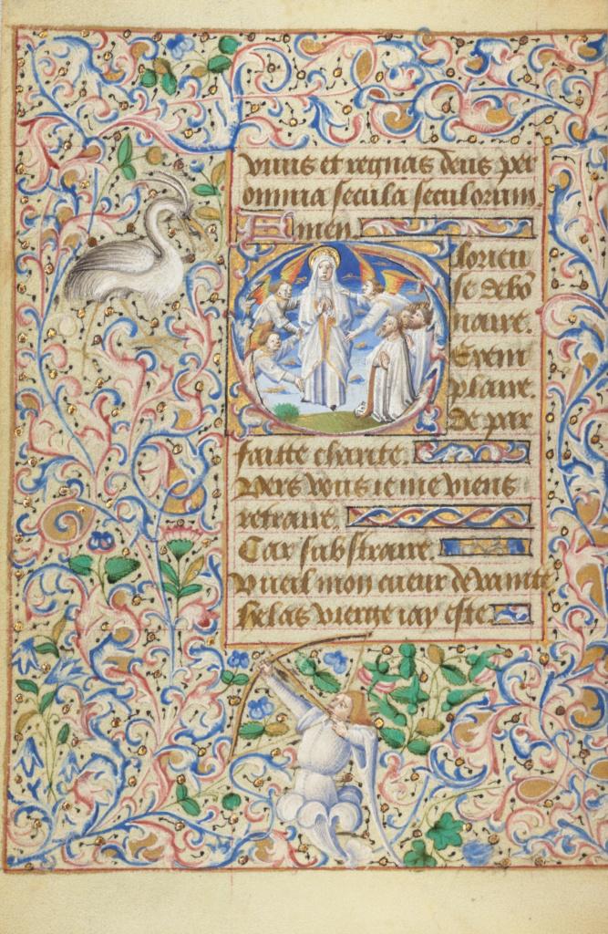 English To Italian Translator Google: Initial G: The Assumption Of The Virgin (Getty Museum