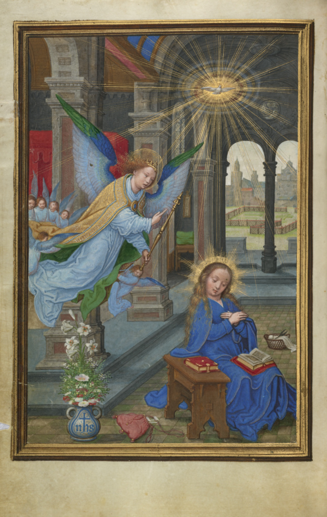 the annunciation getty museum