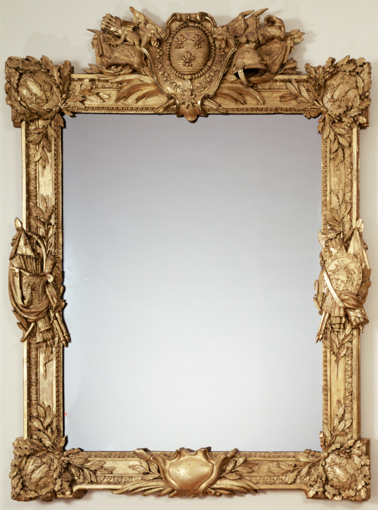 Frame; Carver? Paul (?) Georges (French, active second half of the 18th century); about 1775–1780; Carved and gilded oak; 208.3 × 153 cm (82 × 60 1/4 in.); 88.DA.49; Rights Statement: No Copyright - United States