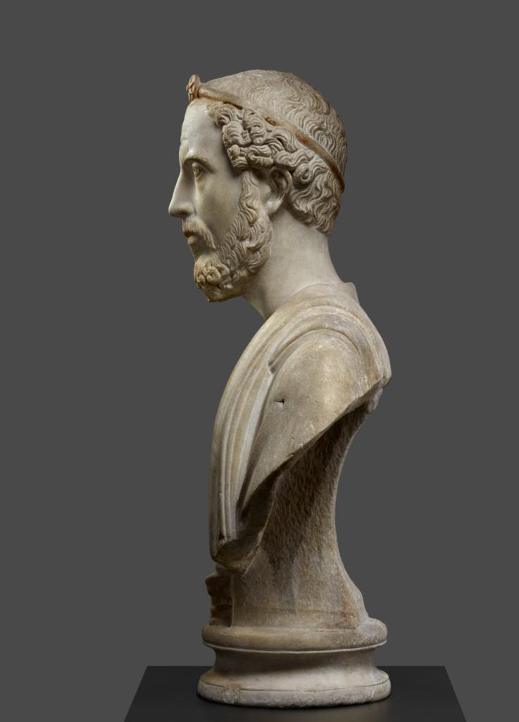 Portrait Bust of Man, Perhaps a Priest of Serapis (Getty ...