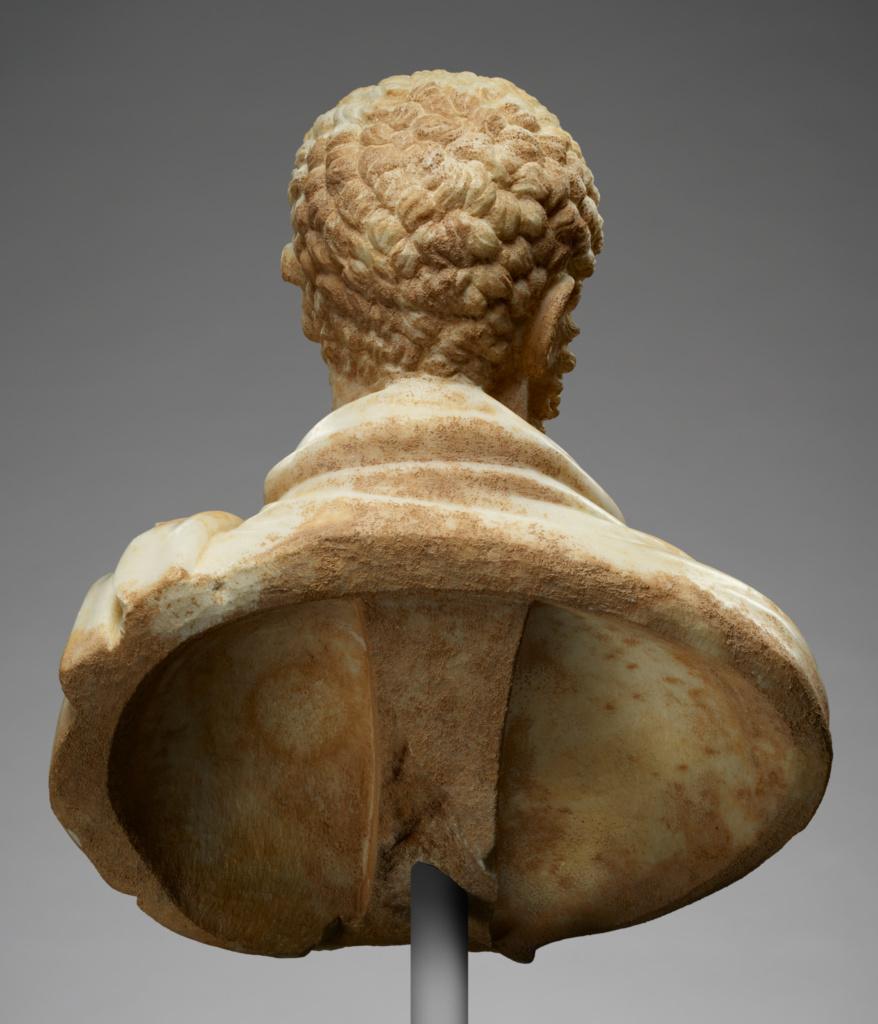 Portrait Bust of a Bearded Man (Getty Museum)