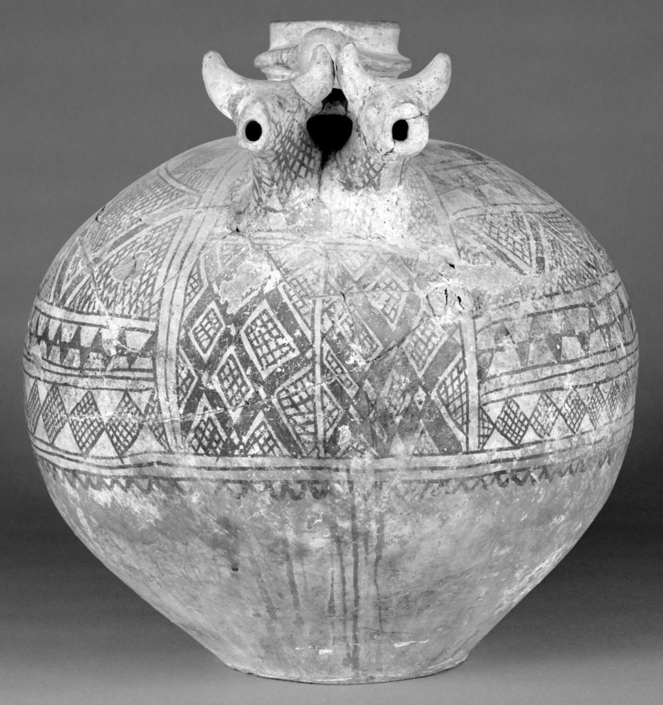 Anatolian Ceramic Vase With Geometric Decoration Getty Museum