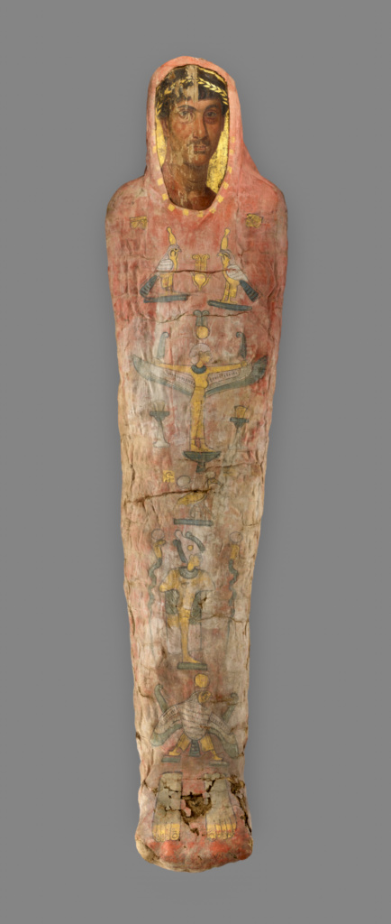 Mummy With Cartonnage And Portrait Getty Museum