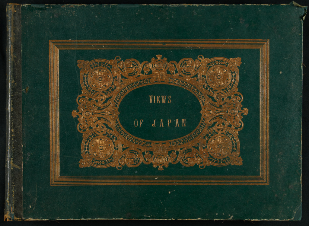 Views of Japan; Felice Beato (English, born Italy, 1832 - 1909); Japan; about 1868; Albumen silver print, hand-colored; Closed: 36.5 × 50 × 6 cm (14 3/8 × 19 11/16 × 2 3/8 in.); 84.XO.613; The J. Paul Getty Museum, Los Angeles; Rights Statement: No Copyright - United States