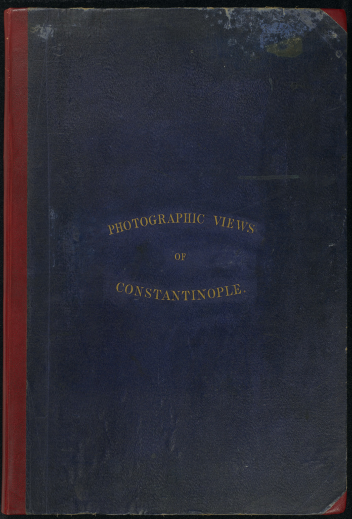 Photographic Views of Constantinople; James Robertson (English, 1813 - 1888), Attributed to Felice Beato (English, born Italy, 1832 - 1909); 1853; Salted paper print; Closed: 55 × 37.5 × 2 cm (21 5/8 × 14 3/4 × 13/16 in.); 84.XO.1237; Rights Statement: No Copyright - United States