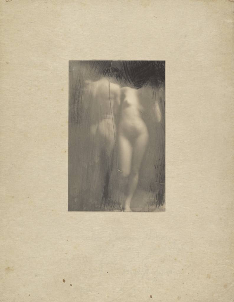 Untitled; Frank Eugene (German, born United States, 1865 - 1936); 1900; Platinum print; 17 × 11 cm (6 11/16 × 4 5/16 in.); 84.XM.161.2; Rights Statement: No Copyright - United States