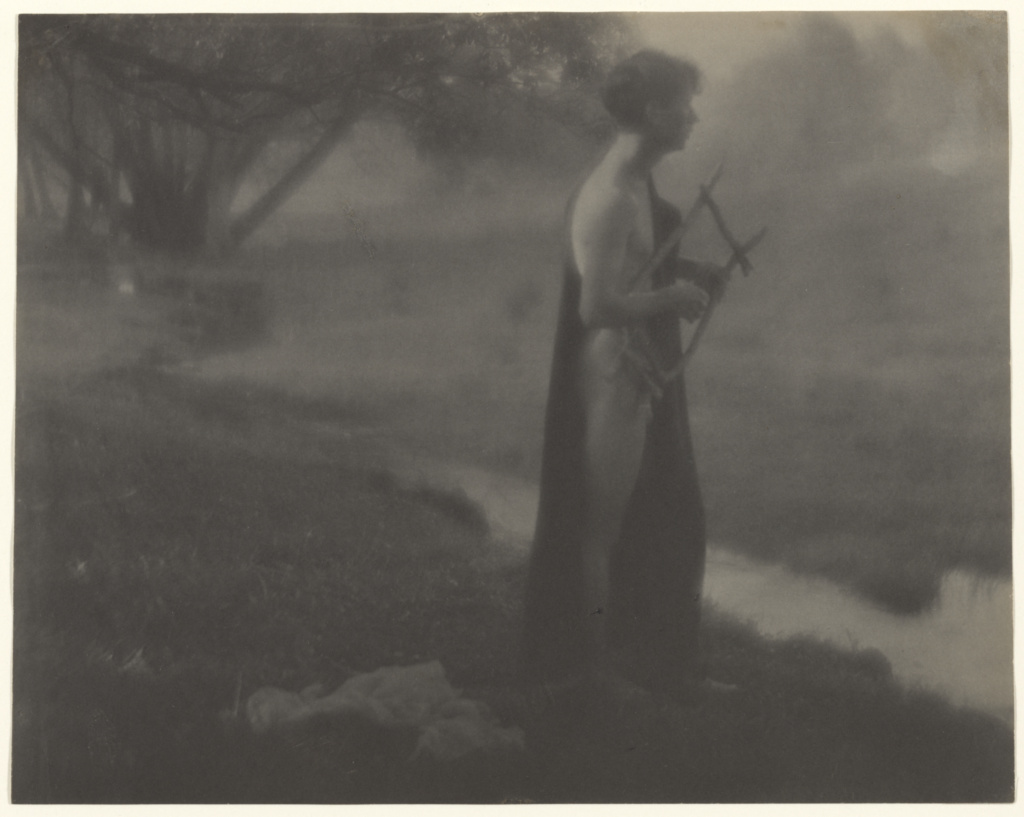 Untitled; George H. Seeley (American, 1880 - 1955); Stockbridge, Massachusetts, United States; about 1903; Platinum print; 19.2 × 24.3 cm (7 9/16 × 9 9/16 in.); 84.XM.163.3; The J. Paul Getty Museum, Los Angeles; Rights Statement: No Copyright - United States