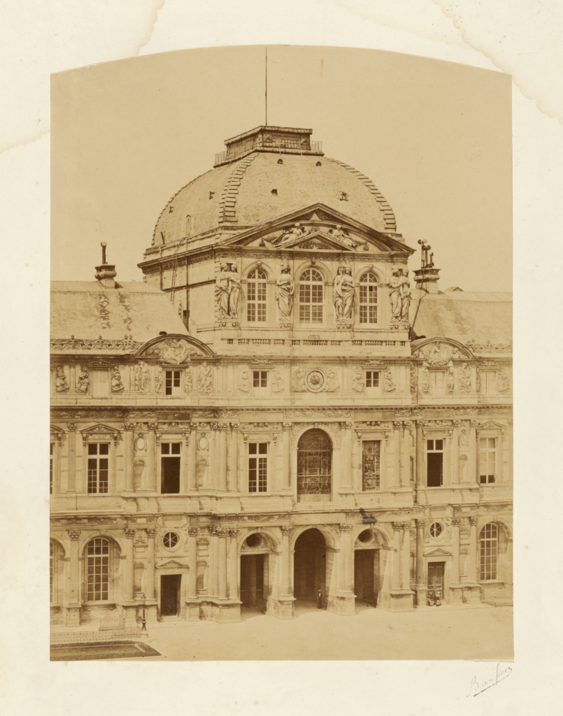 The Louvre Palace Clock Pavillion Getty Museum