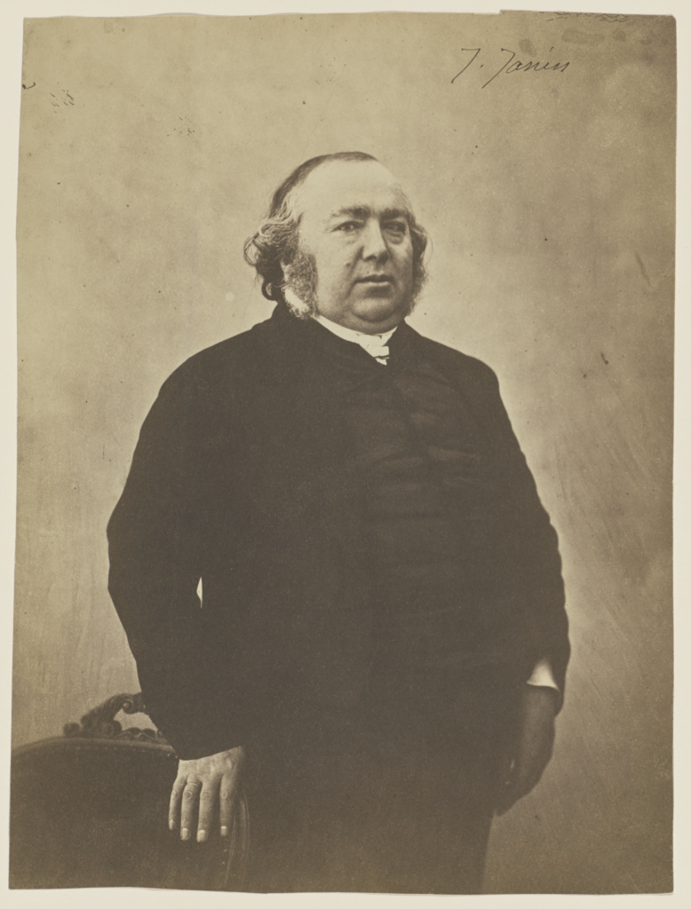 Jules Janin; Nadar [Gaspard Félix Tournachon] (French, 1820 - 1910); 1853–1854; Salted paper prints from glass negative; 24.7 × 18.4 cm (9 3/4 × 7 1/4 in.); 84.XM.436.29; Rights Statement: No Copyright - United States