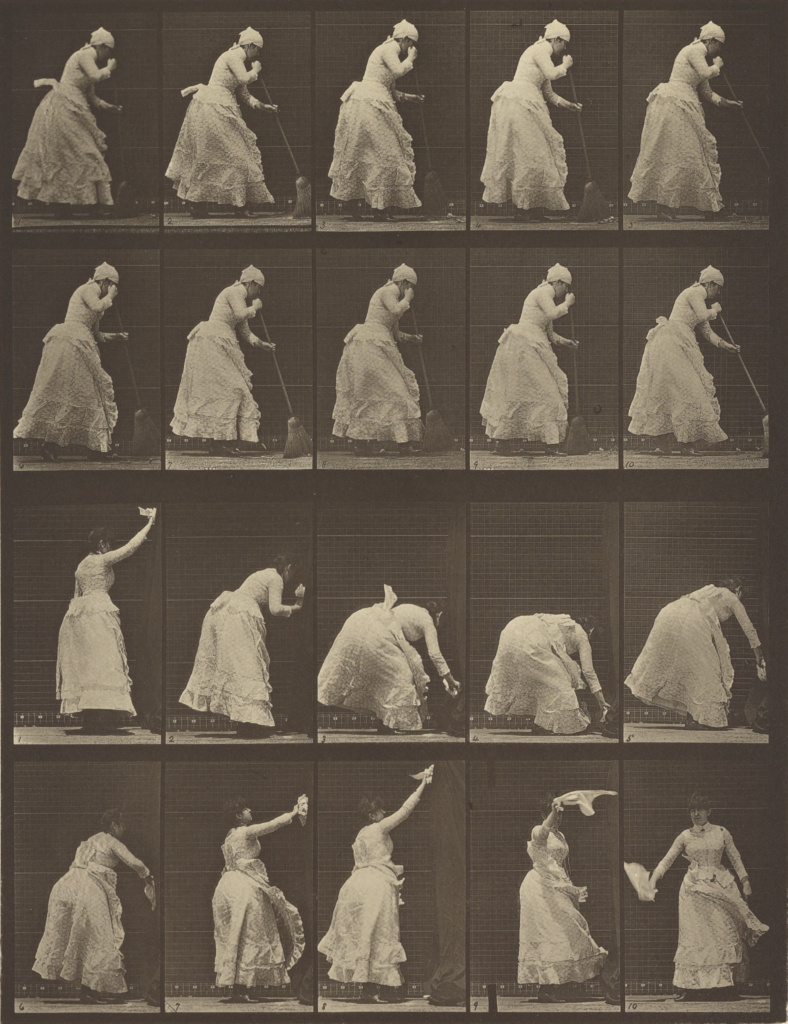 Animal Locomotion; Eadweard J. Muybridge (American, born England, 1830 - 1904); 1887; Collotype; 30.6 × 23 cm (12 1/16 × 9 1/16 in.); 84.XM.628.8; The J. Paul Getty Museum, Los Angeles; Rights Statement: No Copyright - United States