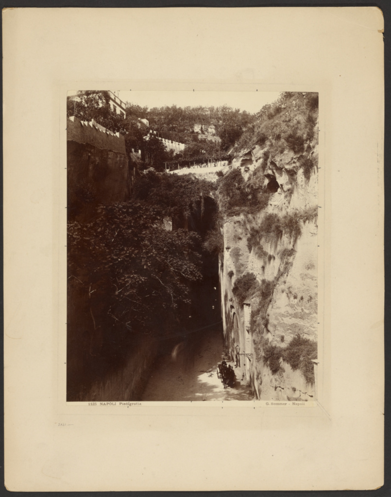 Napoli, Piedigrotta; Giorgio Sommer (Italian, born Germany, 1834 - 1914); Naples, Italy; about 1857–1890; Albumen silver print; 25.3 × 20.5 cm (9 15/16 × 8 1/16 in.); 84.XP.677.30; The J. Paul Getty Museum, Los Angeles; Rights Statement: No Copyright - United States