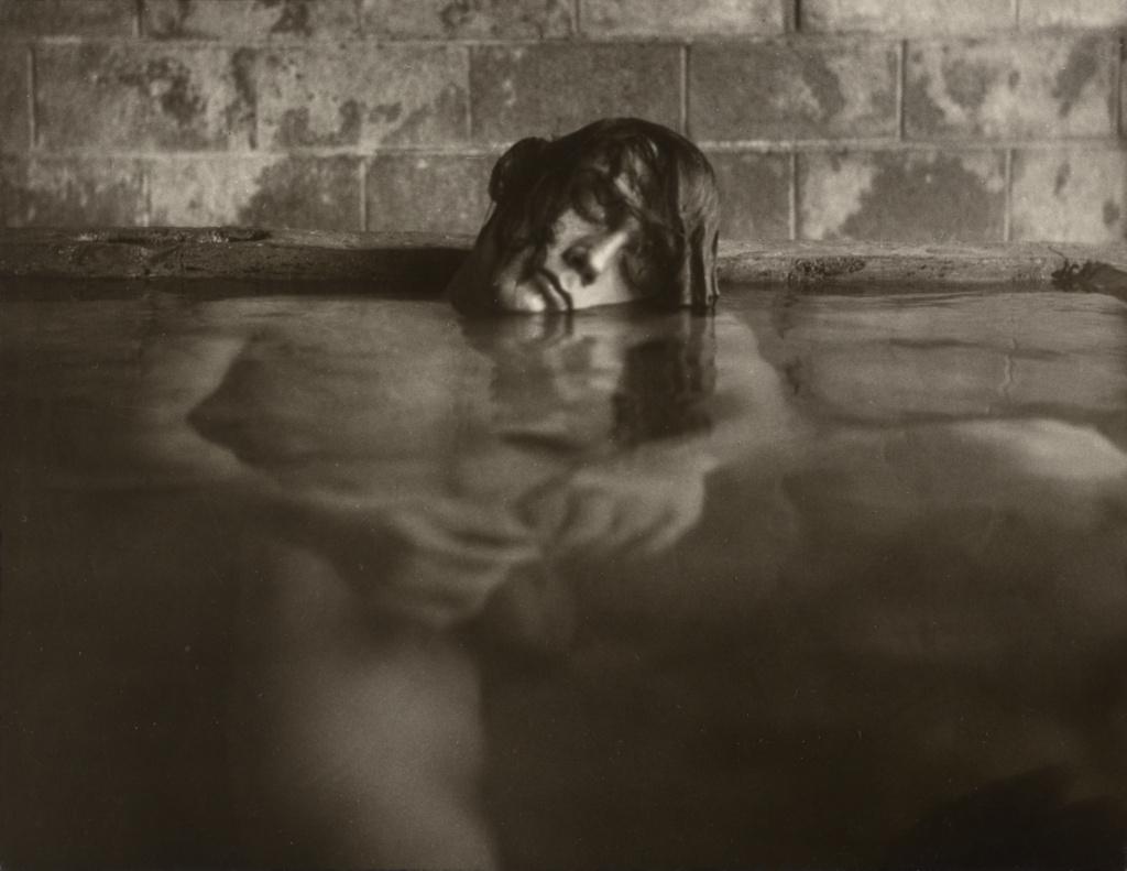 Mineral Baths, Big Sur, California; Edmund Teske (American, 1911 - 1996); 1967; Gelatin silver print; 19.4 × 25.1 cm (7 5/8 × 9 7/8 in.); 84.XM.690.1; Rights Statement: In Copyright; Copyright: © Edmund Teske Archives/Laurence Bump and Nils Vidstrand, 2001