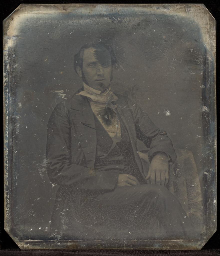 16 Daguerreotype of Gentleman