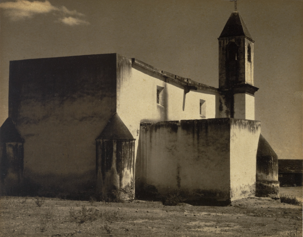 Church, Mexico; Paul Strand (American, 1890 - 1976); Mexico; 1932–1933; Platinum print; 11.7 × 14.8 cm (4 5/8 × 5 13/16 in.); 86.XM.683.79; The J. Paul Getty Museum, Los Angeles; Rights Statement: In Copyright; Copyright: © Aperture Foundation