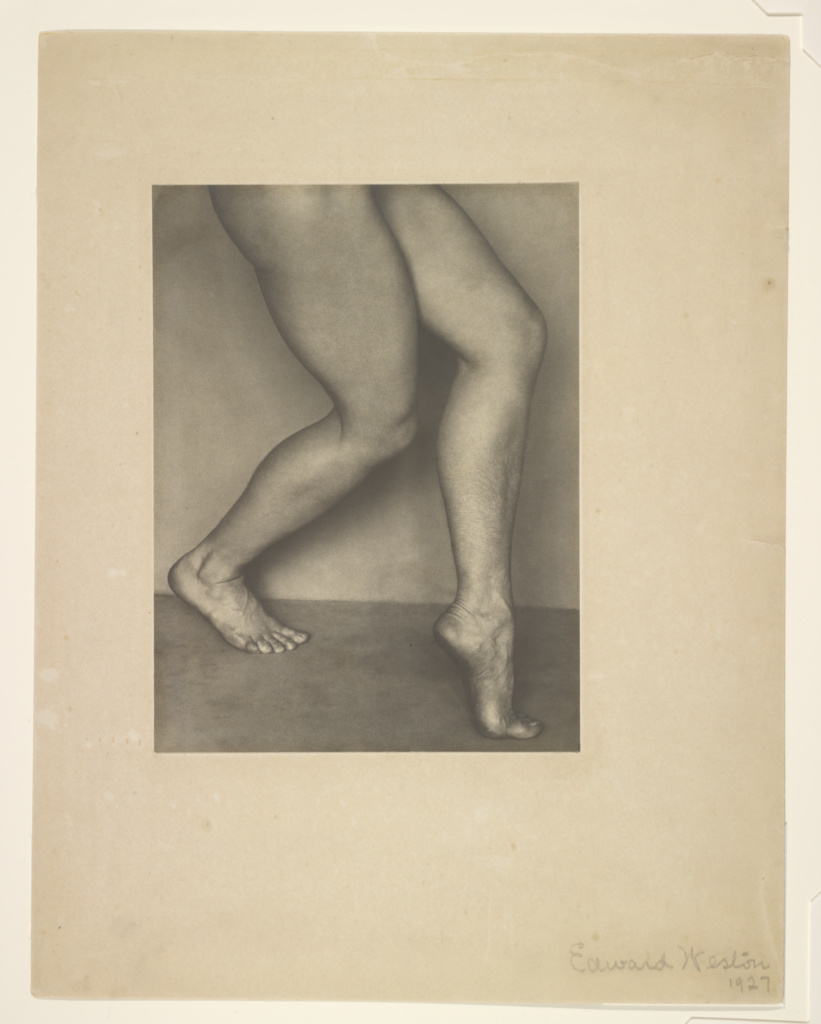 Nude, Bertha Wardell; Edward Weston (American, 1886 - 1958); Glendale, California, United States; 1927; Gelatin silver print; 22.1 × 16.5 cm (8 11/16 × 6 1/2 in.); 87.XM.61.3; The J. Paul Getty Museum, Los Angeles; Rights Statement: In Copyright; Copyright: © 1981 Arizona Board of Regents, Center for Creative Photography