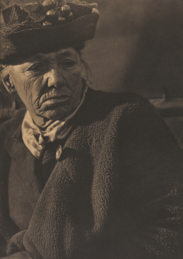 Portrait - New York; Paul Strand (American, 1890 - 1976); New York, New York, United States; 1916; Platinum print; 33.3 × 23.7 cm (13 1/8 × 9 5/16 in.); 89.XM.1.1; The J. Paul Getty Museum, Los Angeles; Rights Statement: No Copyright - United States