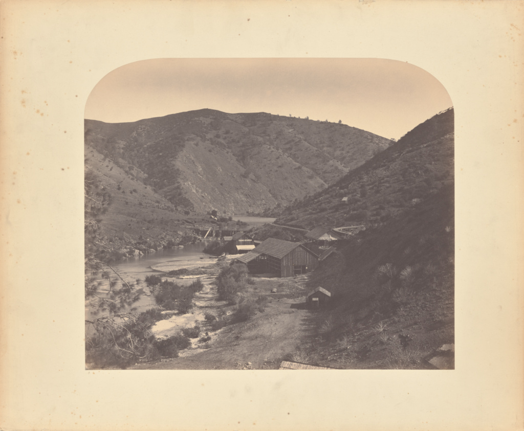 Benton Works; Carleton Watkins (American, 1829 - 1916); 1860; Salted paper print; 35.2 × 41.8 cm (13 7/8 × 16 7/16 in.); 84.XM.171.23; Rights Statement: No Copyright - United States