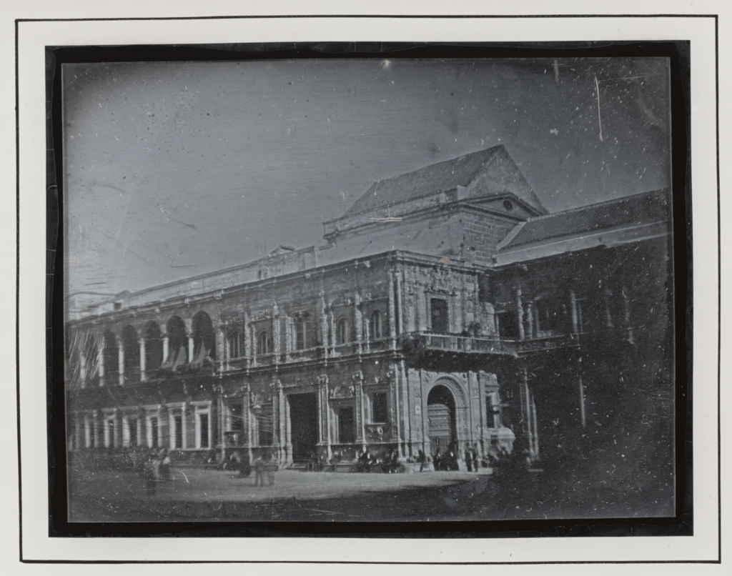 [Ayuntamiento de Sevilla] / [The Town Hall, Seville, Spain]; Attributed to Théophile Gautier (French, 1811 - 1872), Eugène Piot (French, 1812 - 1890); Spain; 1840; Daguerreotype; 84.XT.265.25; The J. Paul Getty Museum, Los Angeles; Rights Statement: No Copyright - United States