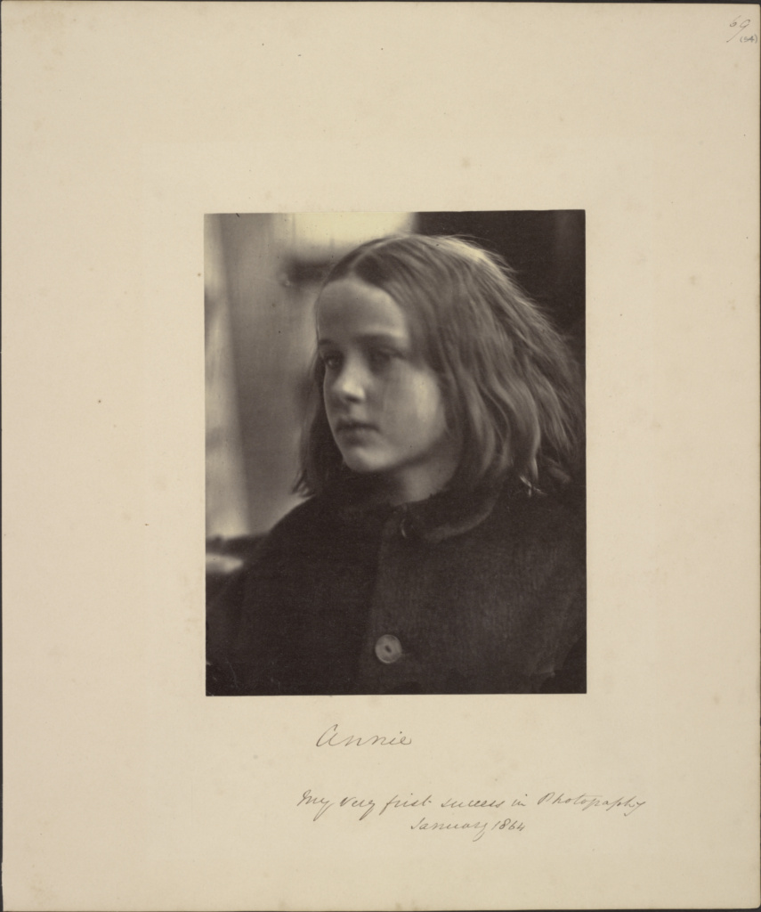 Annie; Julia Margaret Cameron (British, born India, 1815 - 1879); Freshwater, Isle of Wight, England; January 1864; Albumen silver print; 17.9 × 14.3 cm (7 1/16 × 5 5/8 in.); 84.XZ.186.69; The J. Paul Getty Museum, Los Angeles; Rights Statement: No Copyright - United States
