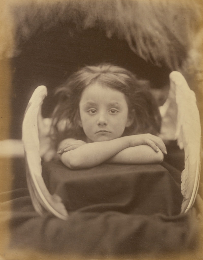 I Wait (Rachel Gurney); Julia Margaret Cameron (British, born India, 1815 - 1879); Freshwater, Isle of Wight, England; 1872; Albumen silver print; 32.7 × 25.4 cm (12 7/8 × 10 in.); 84.XM.443.2; The J. Paul Getty Museum, Los Angeles; Rights Statement: No Copyright - United States