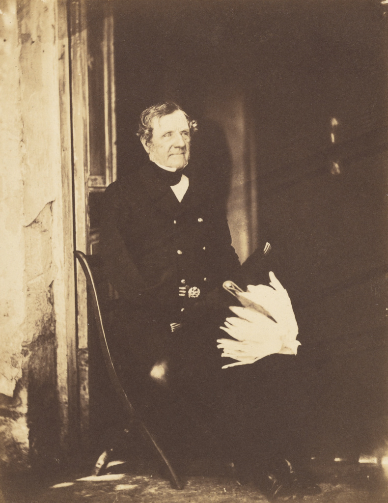 Field Marshall Lord Raglan; Roger Fenton (English, 1819 - 1869); Crimea, Ukraine; June 4, 1855; Salted paper print; 19.8 × 15.2 cm (7 13/16 × 6 in.); 84.XM.504.12; The J. Paul Getty Museum, Los Angeles; Rights Statement: No Copyright - United States