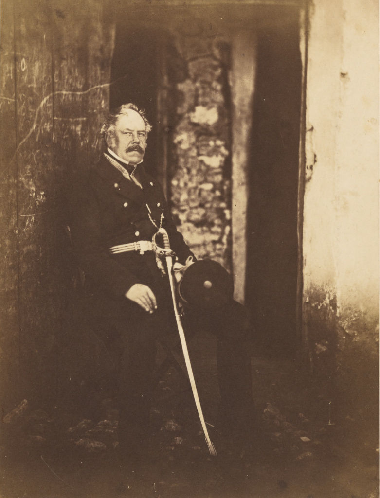 Major General Lockyer; Roger Fenton (English, 1819 - 1869); 1855; Salted paper print; 21.3 × 16 cm (8 3/8 × 6 5/16 in.); 84.XM.1028.9; Rights Statement: No Copyright - United States