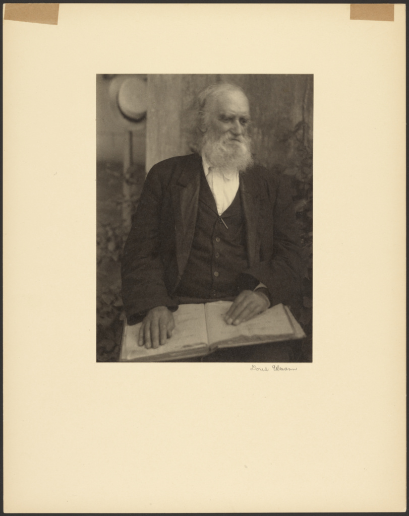 Brother William of the Shaker Settlement, Mount Lebanon, New York; Doris Ulmann (American, 1882 - 1934); about 1925–1927; Platinum print; 20.5 × 15.3 cm (8 1/16 × 6 in.); 87.XM.89.106; Rights Statement: No Copyright - United States
