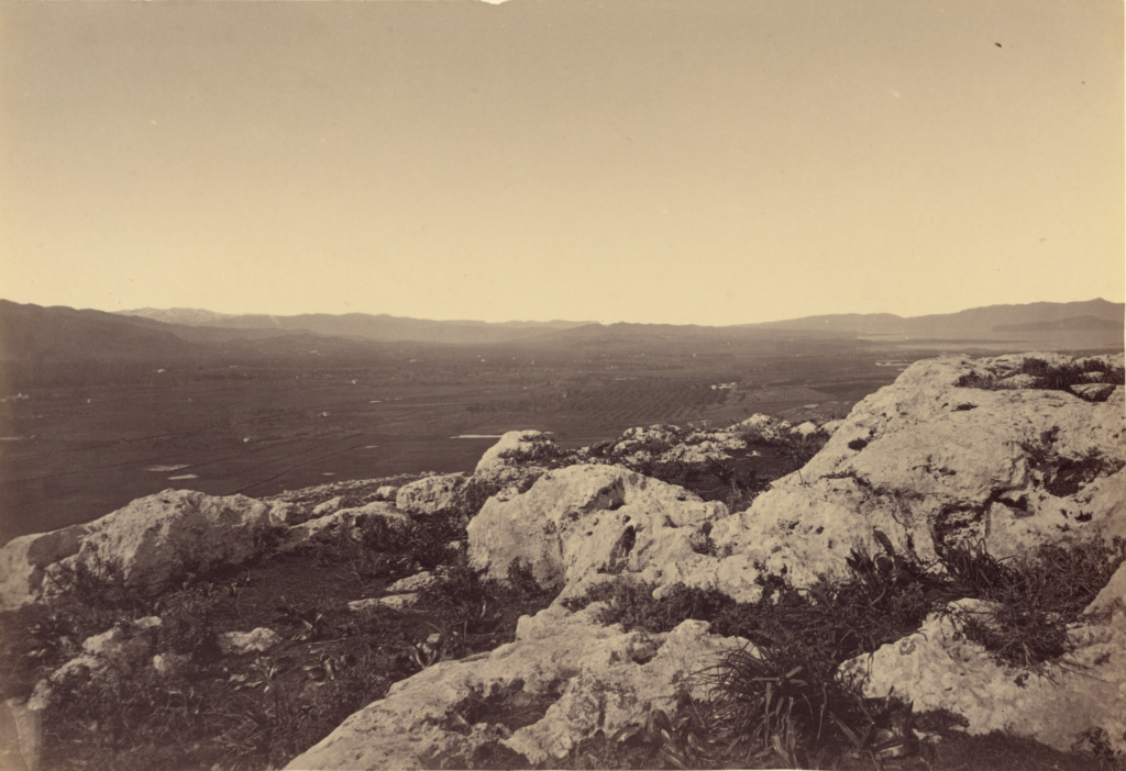 Acrotiry.; William J. Stillman (American, 1828 - 1901); 1860s; Albumen silver print; 16 × 23.3 cm (6 5/16 × 9 3/16 in.); 84.XO.766.7.12; The J. Paul Getty Museum, Los Angeles; Rights Statement: No Copyright - United States