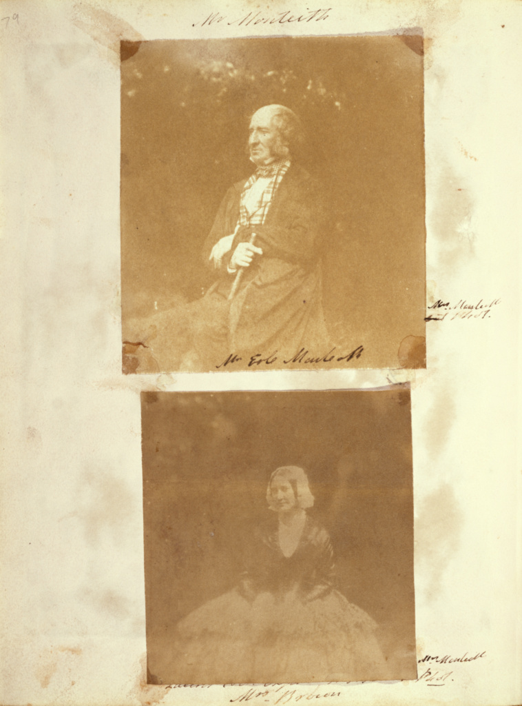 Mr. Monteith; Frances Monteith (Scottish, 1805 - 1898); about 1845; Salted paper print from a paper negative; 10.5 × 9.7 cm (4 1/8 × 3 13/16 in.); 84.XZ.574.98; The J. Paul Getty Museum, Los Angeles; Rights Statement: No Copyright - United States