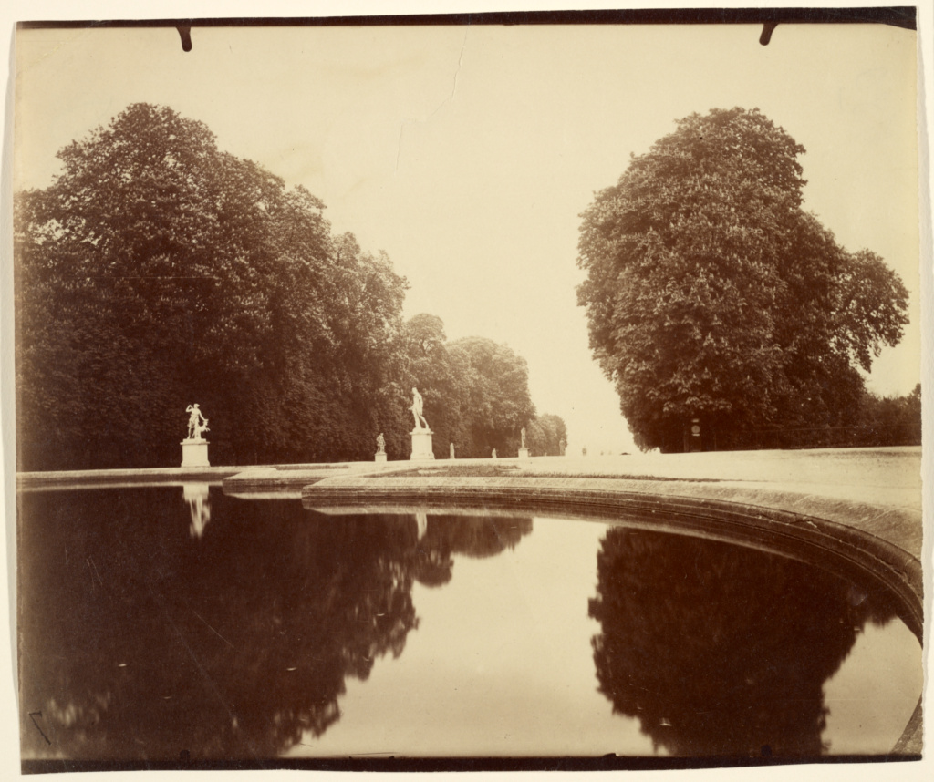 St. Cloud; Eugène Atget (French, 1857 - 1927); Saint-Cloud, France; 1915–1919; Albumen silver print; 18.3 × 21.8 cm (7 3/16 × 8 9/16 in.); 90.XM.64.51; The J. Paul Getty Museum, Los Angeles; Rights Statement: No Copyright - United States