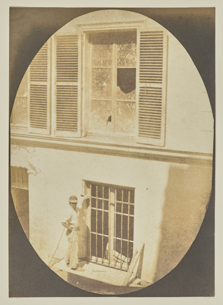 [Construction Worker, Paris]; Hippolyte Bayard (French, 1801 - 1887); about 1845–1847; Salted paper print from a Calotype negative; 16.6 × 11.7 cm (6 9/16 × 4 5/8 in.); 84.XO.968.82; The J. Paul Getty Museum, Los Angeles; Rights Statement: No Copyright - United States